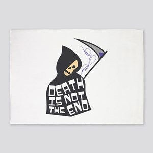 Death Not End 5'x7'Area Rug