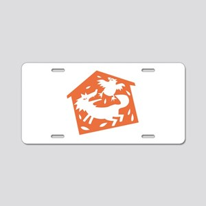 Wolf In Hen House Aluminum License Plate