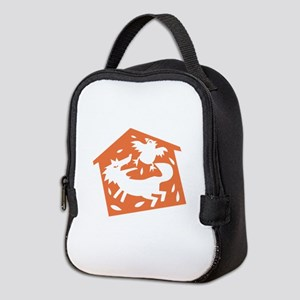 Wolf In Hen House Neoprene Lunch Bag