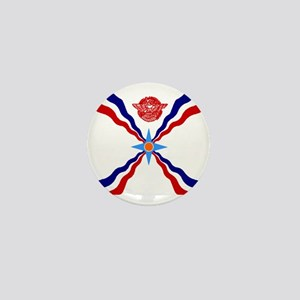 Flag of Assyria Mini Button