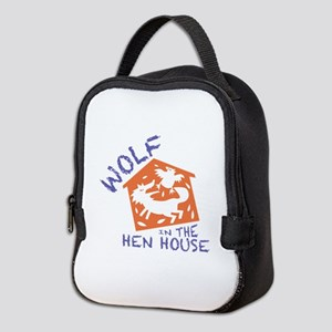 Wolf In The Hen House Neoprene Lunch Bag