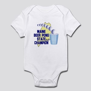 Maine Beer Pong State Champio Infant Bodysuit