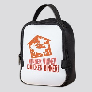 Chicken Dinner Neoprene Lunch Bag