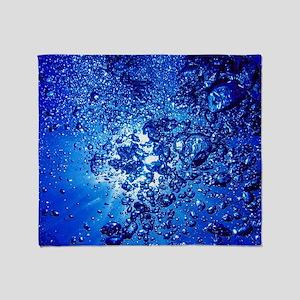 Under Water 04 Throw Blanket