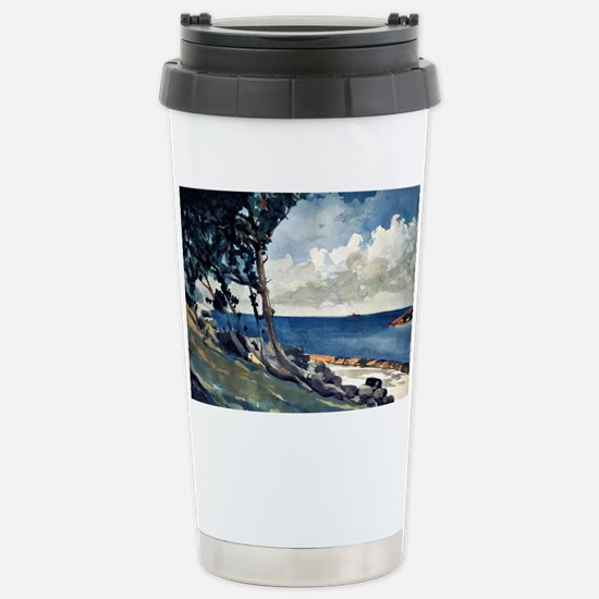 North Road, Bermuda Stainless Steel Travel Mug