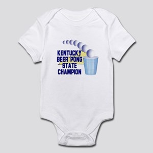 Kentucky Beer Pong State Cham Infant Bodysuit