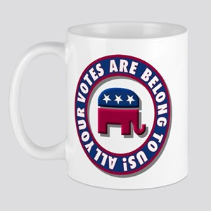 All Your Votes Are Belong to Us! Mug