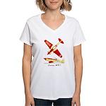 Loving WR-1 Women's V-Neck T-Shirt