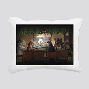 WEED DOGS Rectangular Canvas Pillow