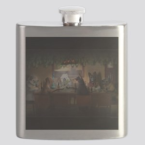 WEED DOGS Flask