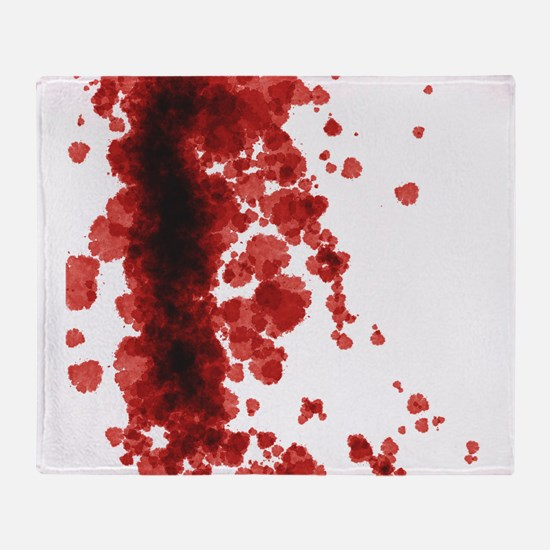 Bloody Mess Throw Blanket