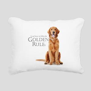 The Golden Rules Rectangular Canvas Pillow