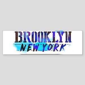 BROOKLYN, NY! Bumper Sticker