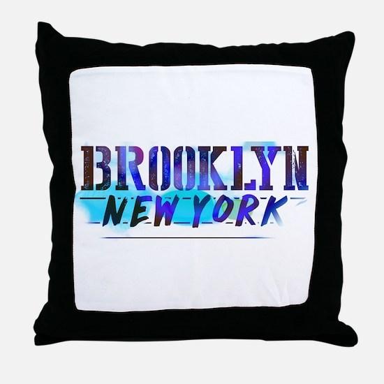BROOKLYN, NY! Throw Pillow