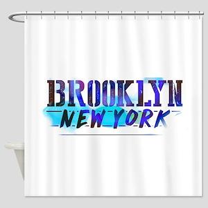 Brooklyn, Ny! Bathroom Shower Curtain