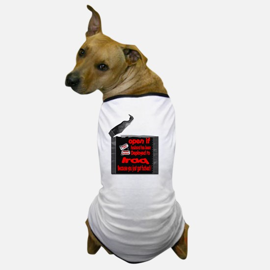 army wife condoms Dog T-Shirt