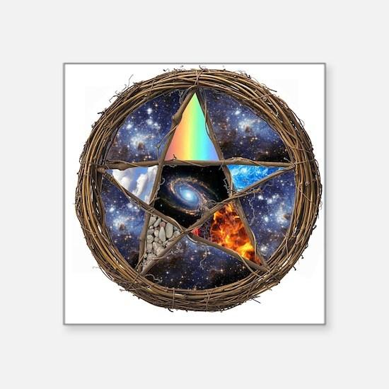 "Cute Druidry Square Sticker 3"" x 3"""