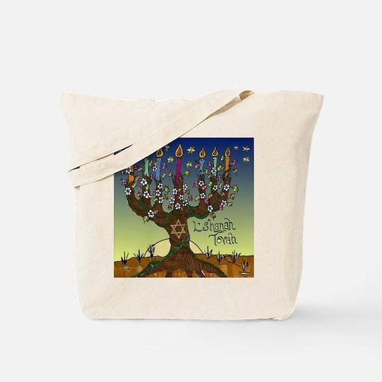 Tree Of Life Lshanah Tovah Tote Bag
