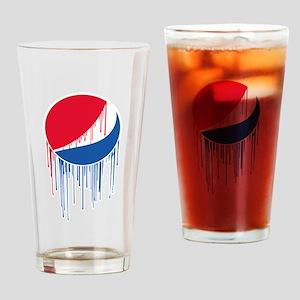 Pepsi Varsity Drip Drinking Glass