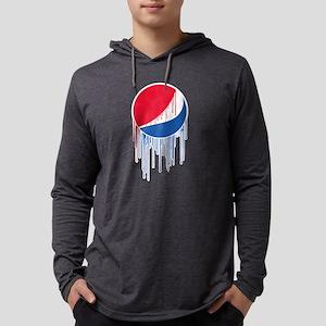 Pepsi Varsity Drip Mens Hooded Shirt