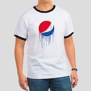 Pepsi Varsity Drip Ringer T