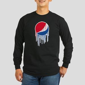 Pepsi Varsity Drip Long Sleeve Dark T-Shirt