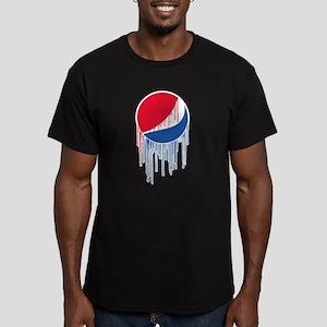 Pepsi Varsity Drip Men's Fitted T-Shirt (dark)