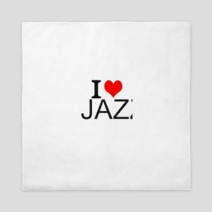 I Love Jazz Queen Duvet