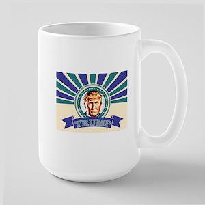 Wow Donald Trump Large Mug