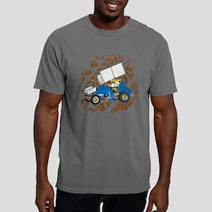 Sprint Car Racing Mens Comfort Colors Shirt
