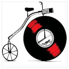Record Bike Poster