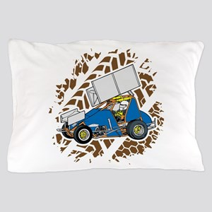 Sprint Car Racing Pillow Case