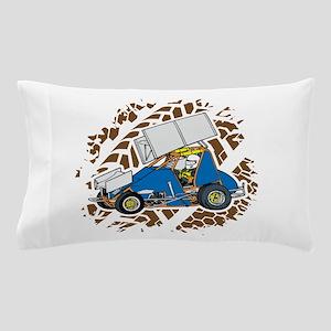 Sprint Car Racing Pillow Case