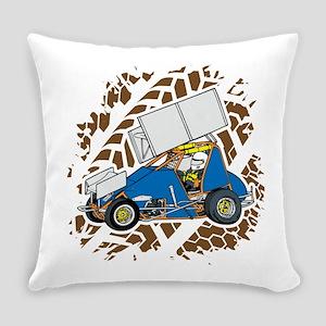 Sprint Car Racing Everyday Pillow