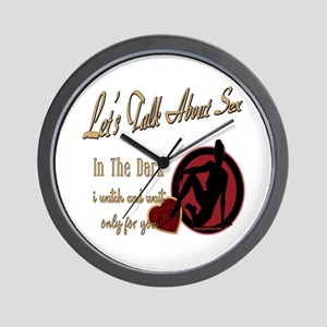 Let's Talk About Sex Series Wall Clock