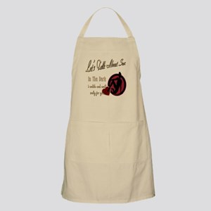 Let's Talk About Sex Series BBQ Apron
