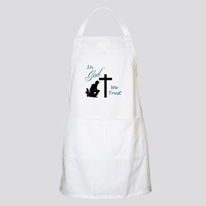 IN GOD WE TRUST Apron