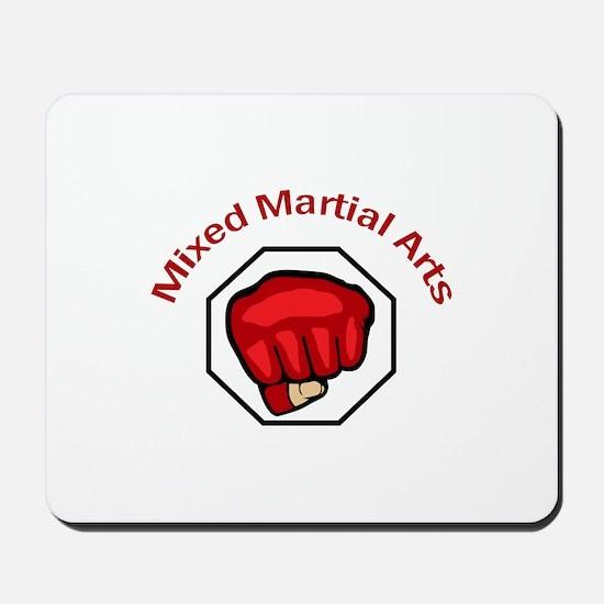 MIXED MARTIAL ARTS Mousepad