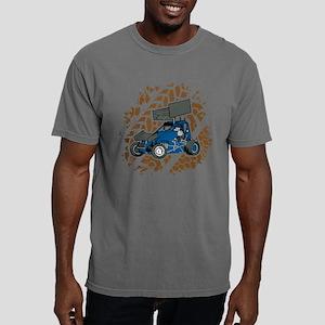 Sprint Car Racing Fan Mens Comfort Colors Shirt