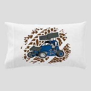 Sprint Car Racing Fan Pillow Case
