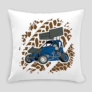 Sprint Car Racing Fan Everyday Pillow