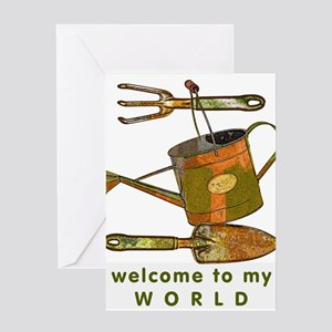 Garden Tools Greeting Cards