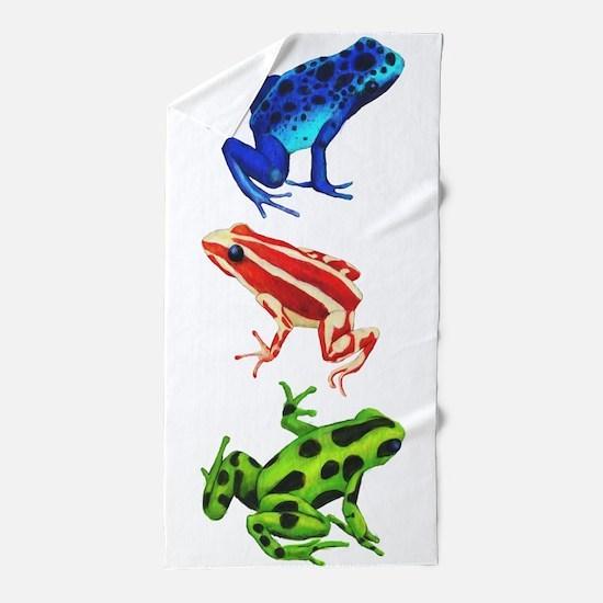 Dart Frog 1 Beach Towel