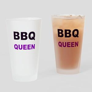 BBQ Queen Drinking Glass