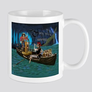 Skeleton Pirates Cave Mugs
