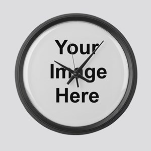 Add your own image Large Wall Clock