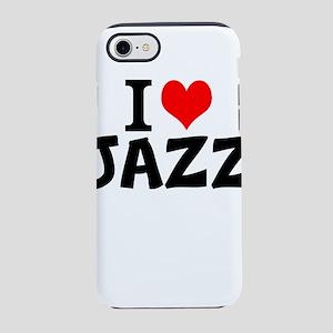 I Love Jazz iPhone 8/7 Tough Case
