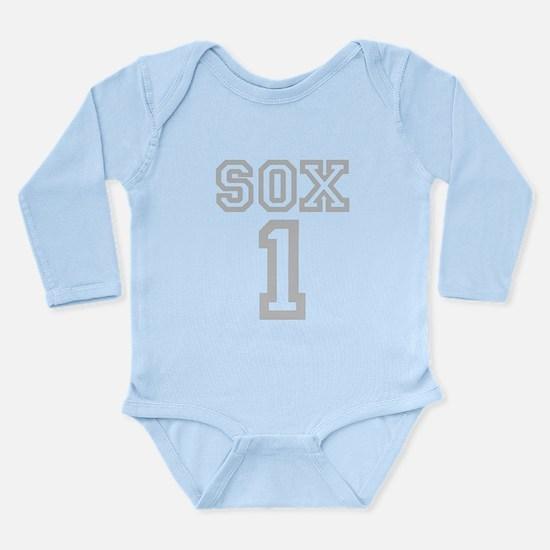 SOX #1 Long Sleeve Infant Bodysuit