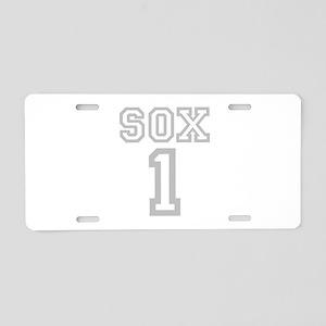 SOX #1 Aluminum License Plate