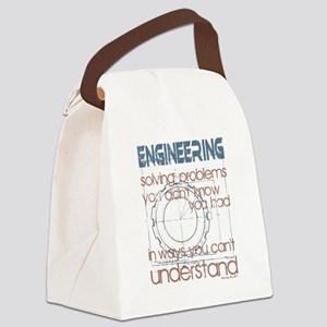 Engineering Solving Problems Bags Canvas Lunch Bag